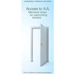 Access to A.A. - Members share on overcoming barriers