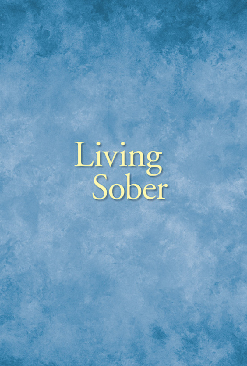 Living Sober - Large Print