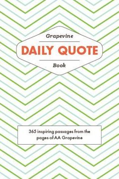 Grapevine DAILY QUOTE Book