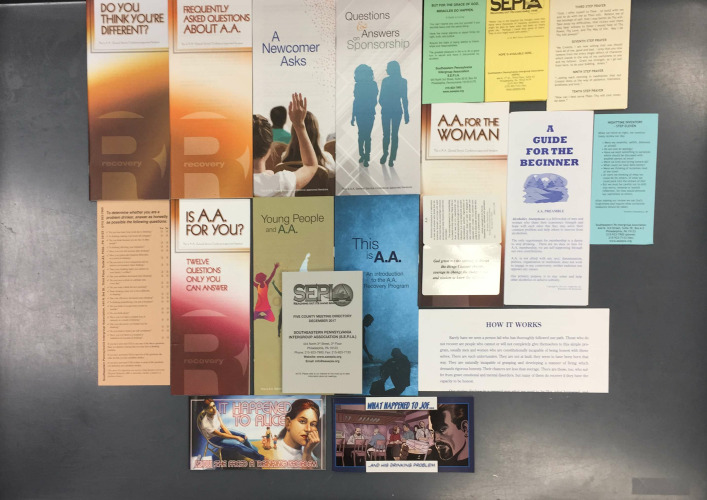 Literature Assortment (Pamphlets/Cards) - $35.00
