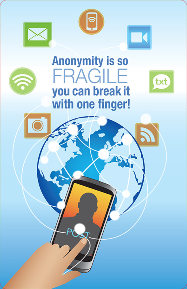 Anonymity Poster-Small 8 x 11