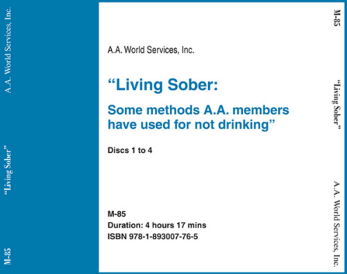 Living Sober - CD