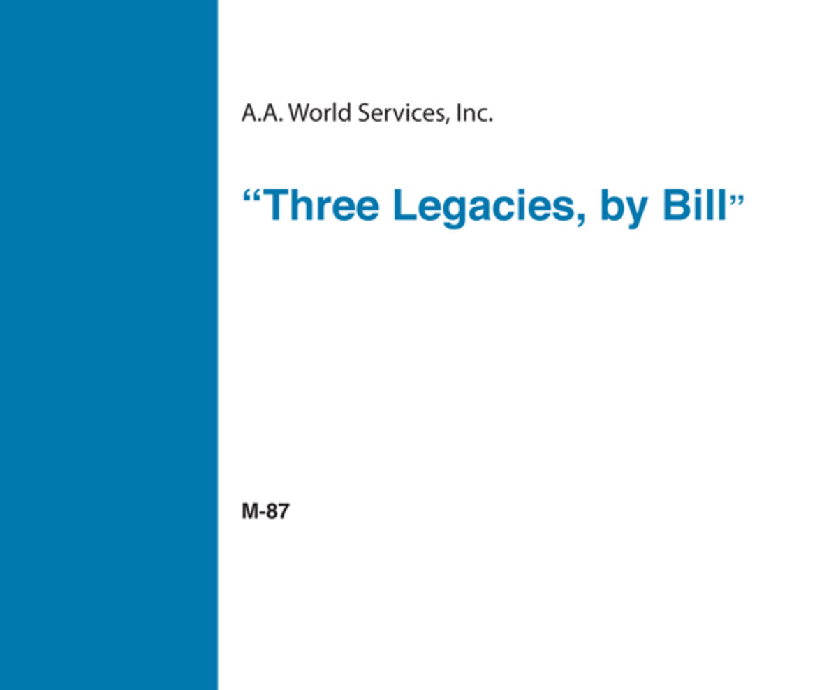 Three Legacies by Bill - CD