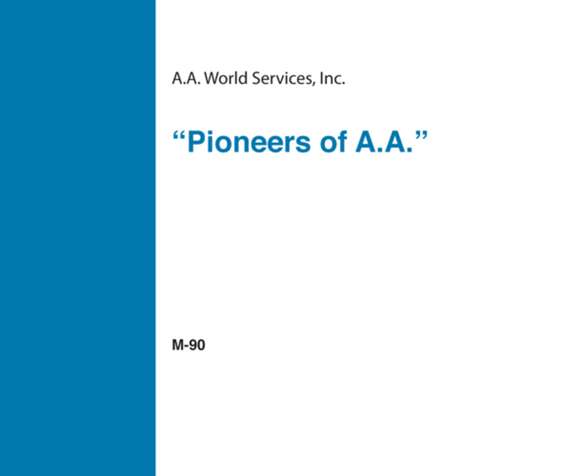 Pioneers of A.A. - CD