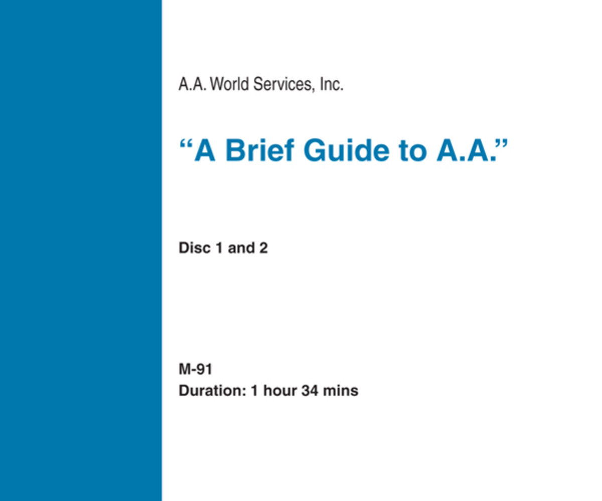 A Brief Guide to A.A. - CD