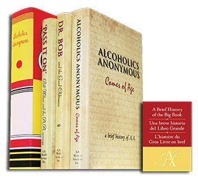 A.A. History Shelf - 4 Volumes