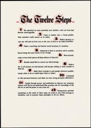 The Twelve Steps (parchment)
